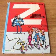 Cómics: LAS AVENTURAS DE SPIROU Y FANTASIO NUMERO 15 B - COMO ZORGLUB - TAPAS DURAS 1980. Lote 42702374