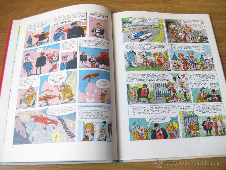 Cómics: LAS AVENTURAS DE SPIROU Y FANTASIO NUMERO 15 B - COMO ZORGLUB - TAPAS DURAS 1980 - Foto 4 - 42702374