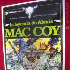 Cómics: MAC COY Nº 1 - LA LEYENDA DE ALEXIS MAC COY - A.H.PALACIOS - CARTONE. Lote 42703446