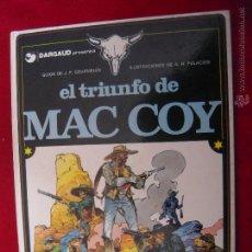 Cómics: MAC COY Nº 4 - EL TRIUNFO DE MAC COY - A.H.PALACIOS - CARTONE. Lote 42703592