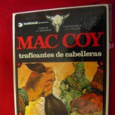 Cómics: MAC COY Nº 7 - TRAFICANTES DE CABELLERAS - A.H.PALACIOS - CARTONE. Lote 42703666