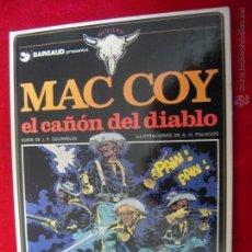 Cómics: MAC COY Nº 9 - EL CAÑON DEL DIABLO - A.H.PALACIOS - CARTONE. Lote 42703707