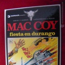 Cómics: MAC COY Nº 10 - FIESTA EN DURANGO - A.H.PALACIOS - CARTONE. Lote 42703745