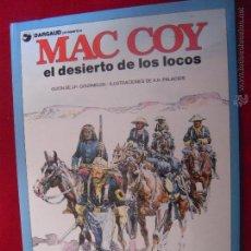Cómics: MAC COY Nº 14 - EL DESIERTO DE LOS LOCOS - A.H.PALACIOS - CARTONE. Lote 42703841