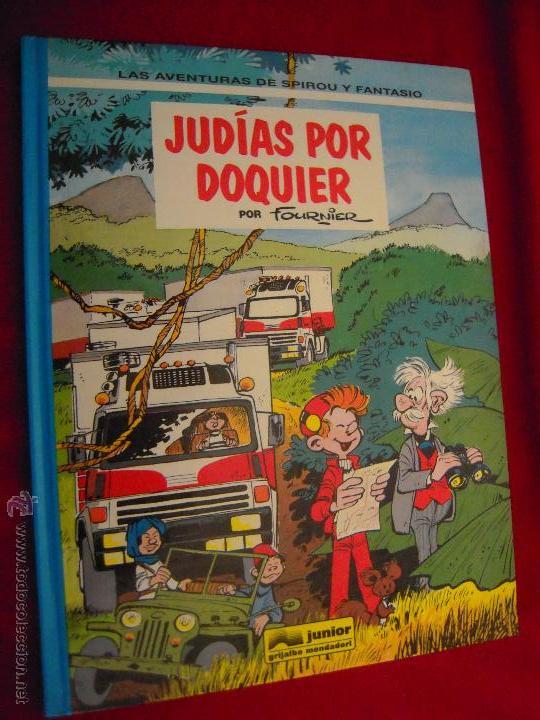 SPIROU 41 - JUDIAS POR DOQUIER - FOURNIER - CARTONE (Tebeos y Comics - Grijalbo - Spirou)