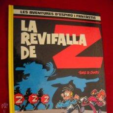 Comics : SPIROU 23 - LA REVIFALLA DE Z - TOME & JANRY - CARTONE - EN CATALAN. Lote 42727032