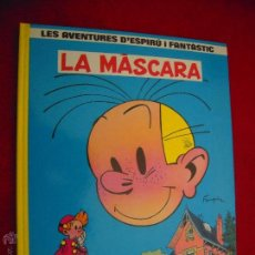 Cómics: SPIROU 5 - LA MASCARA - FRANQUIN - CARTONE - EN CATALAN. Lote 42727923