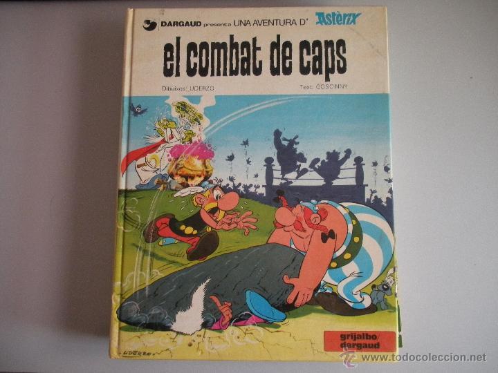 ASTERIX - EL - COMBAT - DE - CAPS - (Tebeos y Comics - Grijalbo - Asterix)