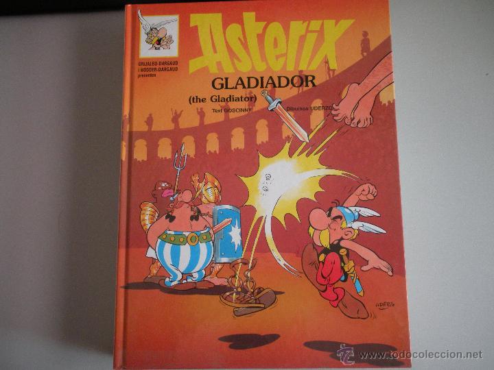 ASTERIX - GLADIADOR - (Tebeos y Comics - Grijalbo - Asterix)
