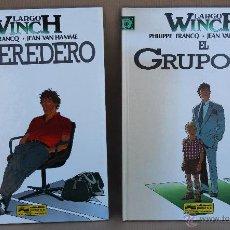 Cómics: LARGO WINCH - FRANCQ / VAN HAMME - 1 EL HEREDERO 2 EL GRUPO W - JUNIOR 1992 - MUY BUEN ESTADO. Lote 42822257