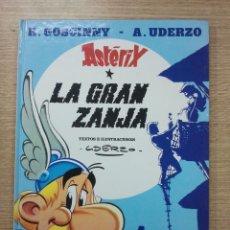 Cómics: ASTERIX #25 LA GRAN ZANJA CARTONE. Lote 42833017