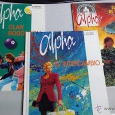 Cómics: ALPHA ¡ COMPLETA 3 ALBUMES ! GRIJALBO - NORMA. Lote 42853048