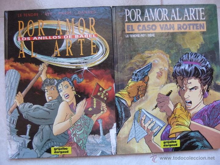 POR AMOR AL ARTE TOMOS 1 Y 2 EDITORIAL GRIJALBO 1991 (Tebeos y Comics - Grijalbo - Otros)