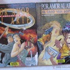 Cómics: POR AMOR AL ARTE TOMOS 1 Y 2 EDITORIAL GRIJALBO 1991. Lote 42894972