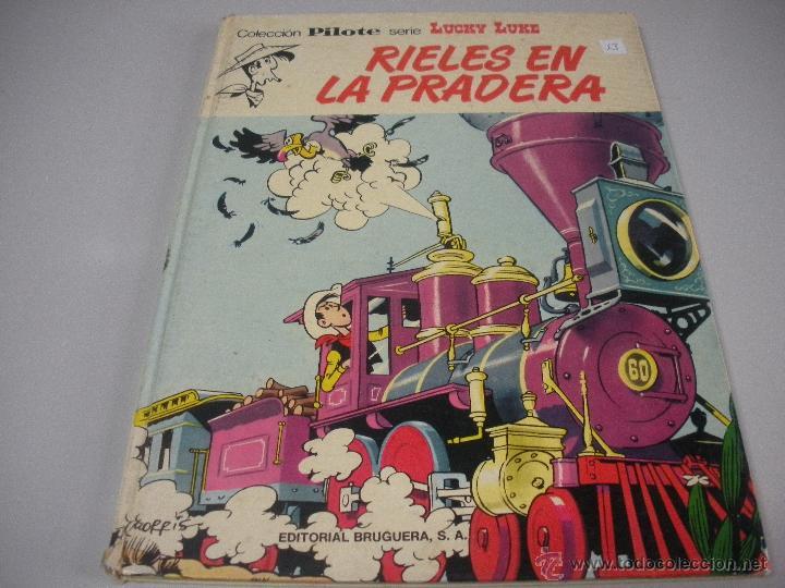 COLEECION PILOTE - SERIE - LUCHY - LUKE - (Tebeos y Comics - Grijalbo - Lucky Luke)