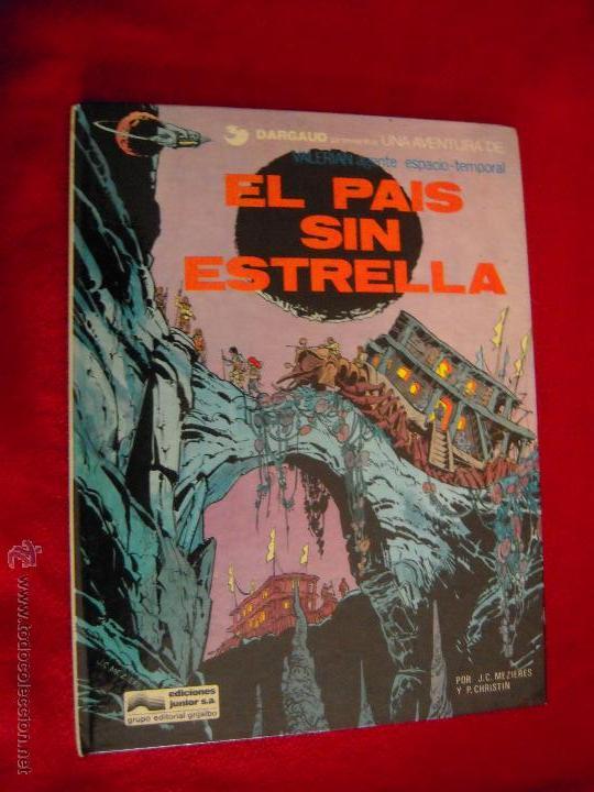 VALERIAN 2 - EL PAIS SIN ESTRELLA - CHRISTIAN & MEZIERES - CARTONE (Tebeos y Comics - Grijalbo - Valerian)