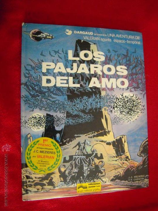 VALERIAN 4 - LOS PAJAROS DEL AMO - CHRISTIAN & MEZIERES - CARTONE (Tebeos y Comics - Grijalbo - Valerian)