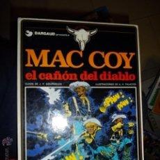 Cómics: MAC COY 9 EL CAÑON DEL DIABLO ORIGINAL DARGAUD 1982. Lote 43030280
