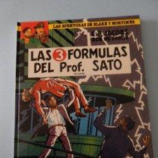 Cómics: LAS AVENTURAS DE BLAKE Y MORTIMER N. 12 LAS 3 FORMULAS DEL PROFESOR SATO 2 PARTE. Lote 53642367