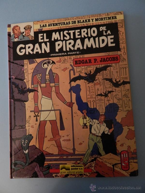 LAS AVENTURAS DE BLAKE Y MORTIMER N. 1 EL MISTERIO DE LA GRAN PIRAMIDE PRIMERA PARTE (Tebeos y Comics - Grijalbo - Blake y Mortimer)