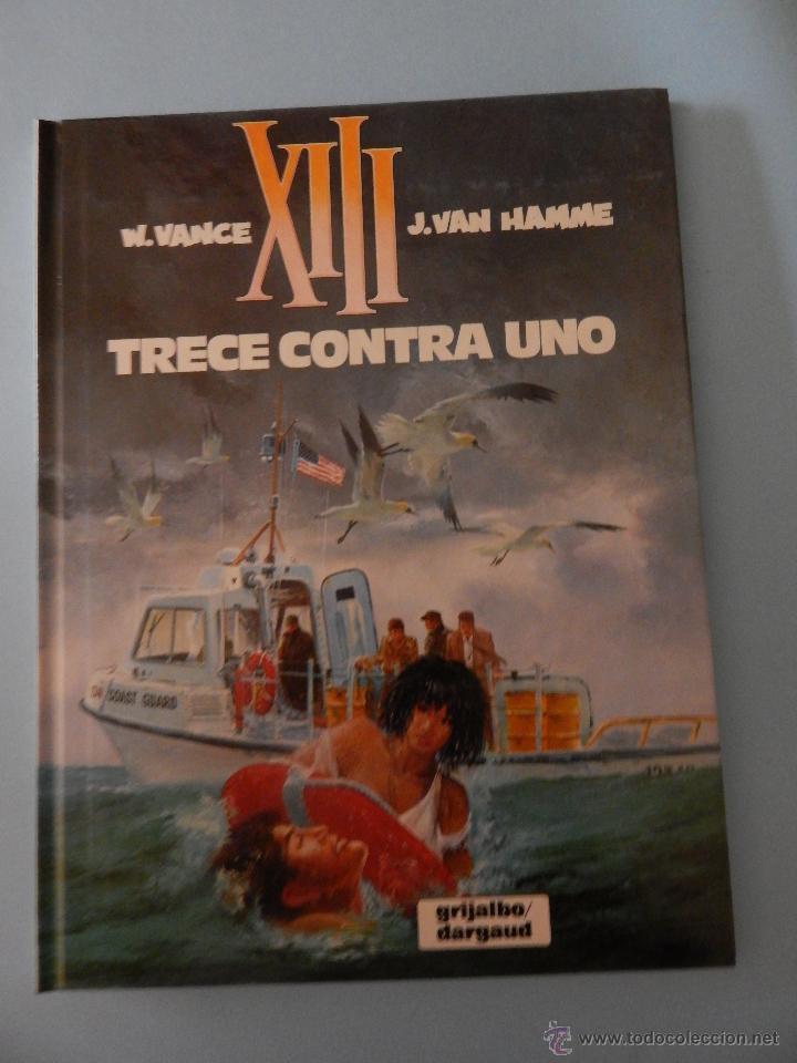XIII N. 8 TRECE CONTRA UNO (Tebeos y Comics - Grijalbo - XIII)
