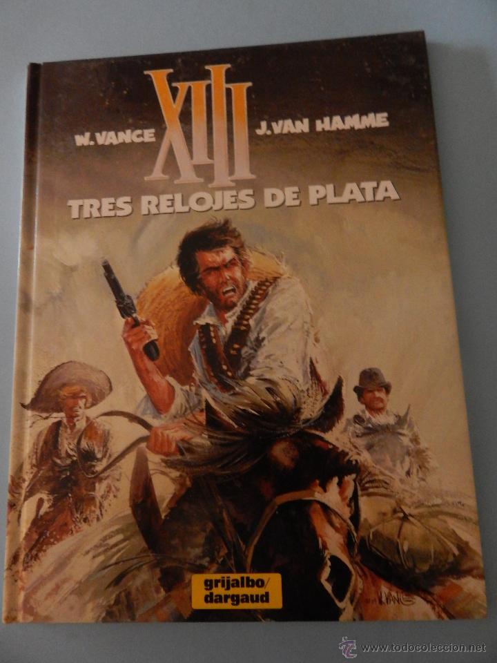 XIII N. 11 TRES RELOJES DE PLATA (Tebeos y Comics - Grijalbo - XIII)