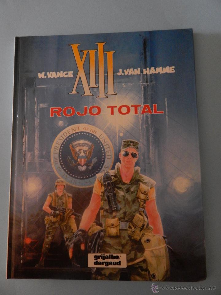 XIII N. 5 ROJO TOTAL (Tebeos y Comics - Grijalbo - XIII)