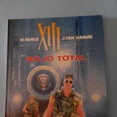 Cómics: XIII N. 5 ROJO TOTAL. Lote 43200245