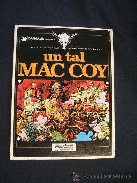 MAC COY - Nº 2 - UN TAL MAC COY - GRIJALBO - (Tebeos y Comics - Grijalbo - Mac Coy)