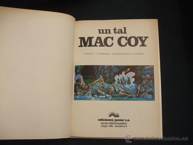 Cómics: MAC COY - Nº 2 - UN TAL MAC COY - GRIJALBO - - Foto 2 - 43232683