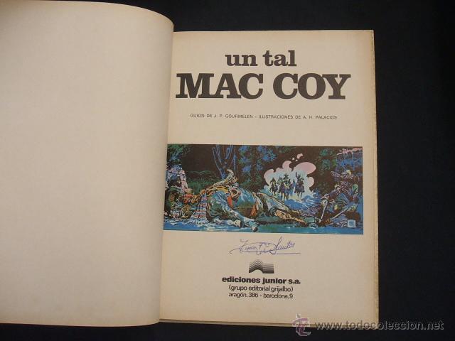 Cómics: MAC COY - Nº 2 - UN TAL MAC COY - GRIJALBO - - Foto 2 - 43232720