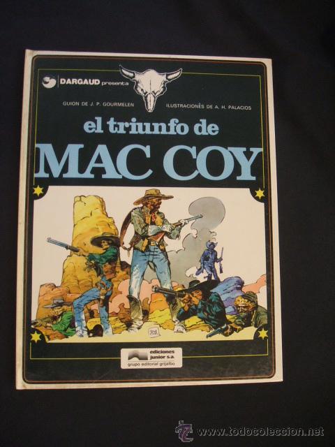 MAC COY - Nº 4 - EL TRIUNFO DE MAC COY - GRIJALBO - (Tebeos y Comics - Grijalbo - Mac Coy)