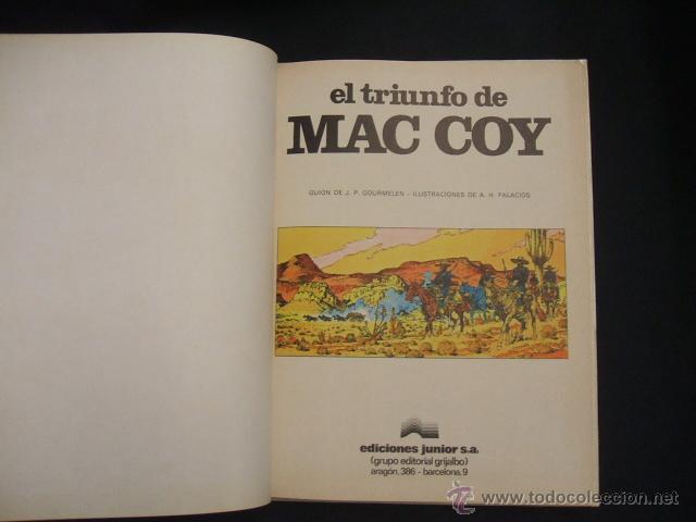 Cómics: MAC COY - Nº 4 - EL TRIUNFO DE MAC COY - GRIJALBO - - Foto 2 - 43233063