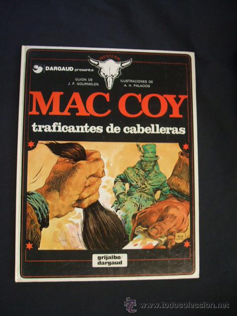 MAC COY - Nº 7 - TRAFICANTES DE CABELLERAS - GRIJALBO - (Tebeos y Comics - Grijalbo - Mac Coy)