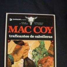 Cómics: MAC COY - Nº 7 - TRAFICANTES DE CABELLERAS - GRIJALBO - . Lote 43233615