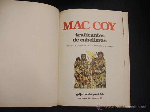 Cómics: MAC COY - Nº 7 - TRAFICANTES DE CABELLERAS - GRIJALBO - - Foto 2 - 43233615