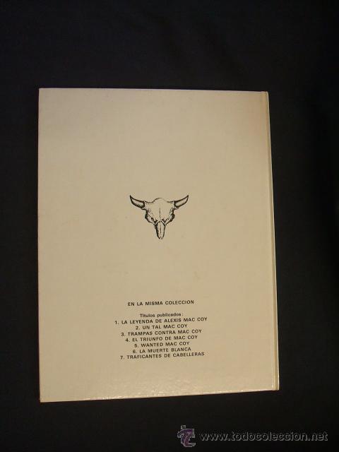 Cómics: MAC COY - Nº 7 - TRAFICANTES DE CABELLERAS - GRIJALBO - - Foto 4 - 43233615