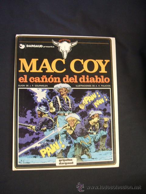 MAC COY - Nº 9 - EL CAÑON DEL DIABLO - GRIJALBO - (Tebeos y Comics - Grijalbo - Mac Coy)