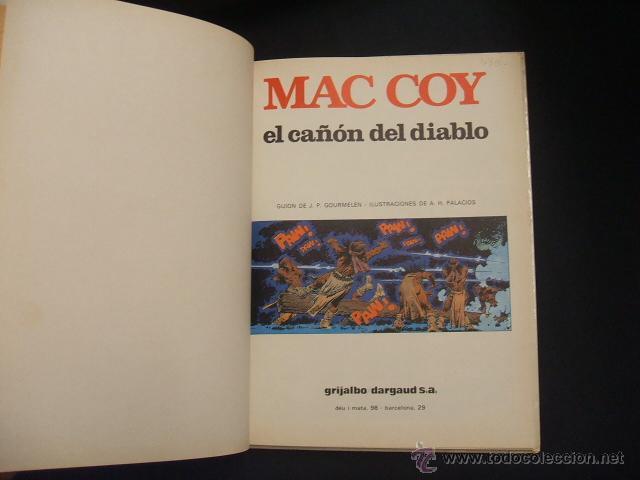 Cómics: MAC COY - Nº 9 - EL CAÑON DEL DIABLO - GRIJALBO - - Foto 2 - 43233809