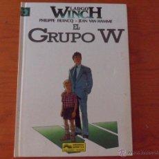 Cómics: LARGO WINCH - TOMO Nº 2 - EL GRUPO W - 1ª EDICION DE 1992 EN TAPAS DURAS. Lote 43269430