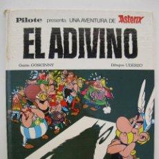 Cómics: ASTÉRIX - EL ADIVINO - GOSCINNY - UDERZO - PILOTE - EDITORIAL BRUGUERA - AÑO 1973.. Lote 43295120