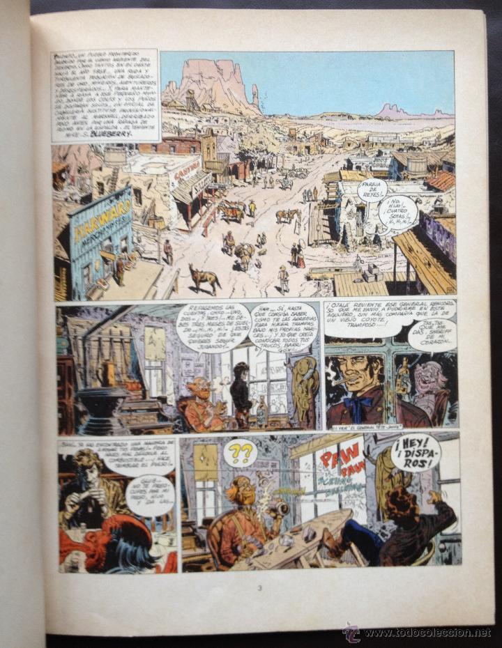 Cómics: Teniente Blueberry - La Mina del Alemán Perdido - Grijalbo / Dargaud - Nº 1 Tapa Blanda Años 70 - Foto 4 - 131005279