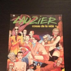 Cómics: LAUZIER COSAS DE LA VIDA Nº 4 - GRIJALBO DARGAUD - COMIC PUBLICACION PARA ADULTOS. Lote 43408384
