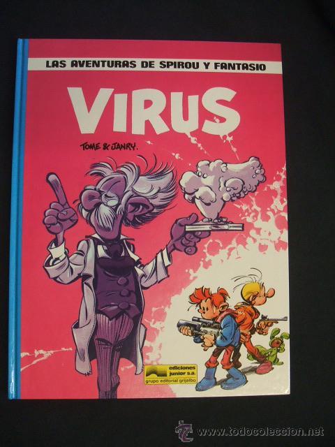 LAS AVENTURAS DE SPIROU Y FANTASIO - Nº 19 - VIRUS - GRIJALBO - (Tebeos y Comics - Grijalbo - Spirou)