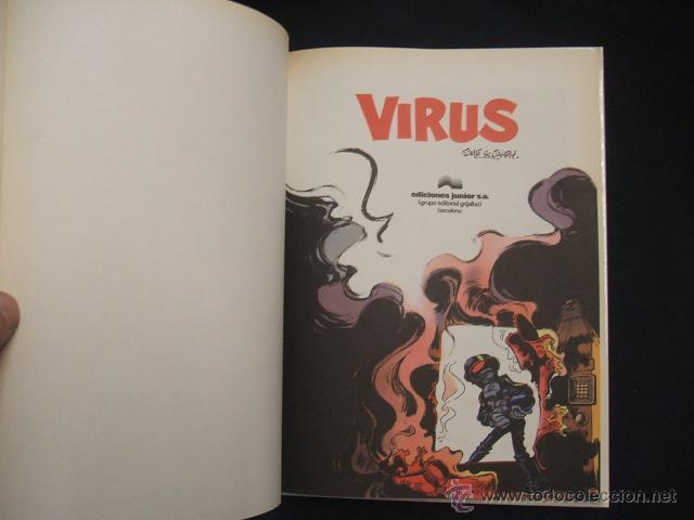 Cómics: LAS AVENTURAS DE SPIROU Y FANTASIO - Nº 19 - VIRUS - GRIJALBO - - Foto 2 - 43414999