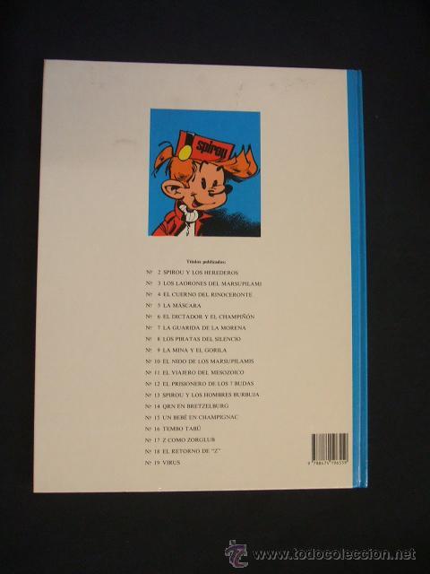 Cómics: LAS AVENTURAS DE SPIROU Y FANTASIO - Nº 19 - VIRUS - GRIJALBO - - Foto 4 - 43414999