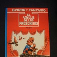 Cómics: LAS AVENTURAS DE SPIROU Y FANTASIO - Nº 27 - EL VALLE DE LOS PROSCRITOS - GRIJALBO -. Lote 43415500