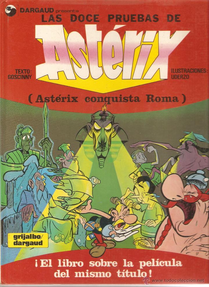 ASTÉRIX - LAS DOCE PRUEBAS DE ASTÉRIX - UDERZO GOSCINNY - DARGAUD (Tebeos y Comics - Grijalbo - Asterix)