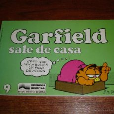 Cómics: GARFIELD Nº 9 - SALE DE CASA - GRIJALBO EDIC JUNIOR 1987. JIM DAVIS. Lote 43551889