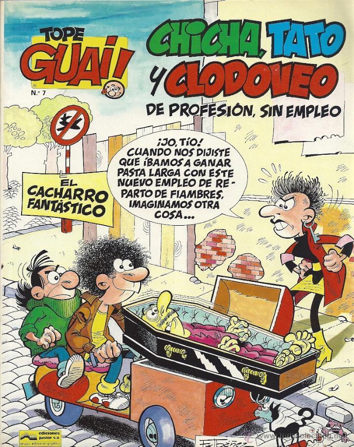 CHICHA, TATO Y CLODOVEO. EL CACHARRO FANTÁSTICO (Tebeos y Comics - Grijalbo - Otros)